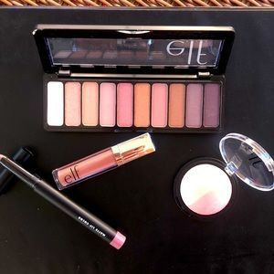 NEW ELF Rose Gold Look Set 4 Full Size Products